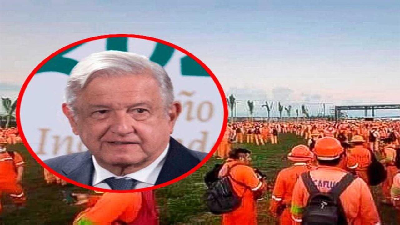 Se ofrece López Obrador para mediar en conflicto sindical de Dos Bocas