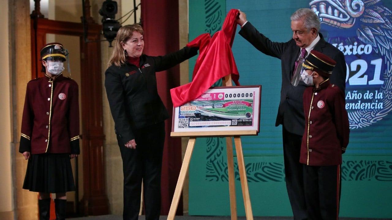 Se vendieron más de 773 mil 'cachitos' para sorteo del 15 de septiembre: Lotería Nacional