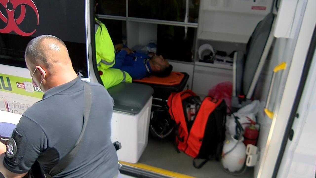 Atropellan a motociclista que ignoró señalamiento de alto en Monclova