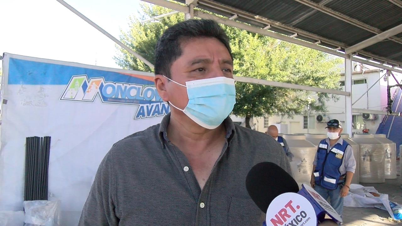 Entregan tinacos subsidiados a 31 familias de Monclova