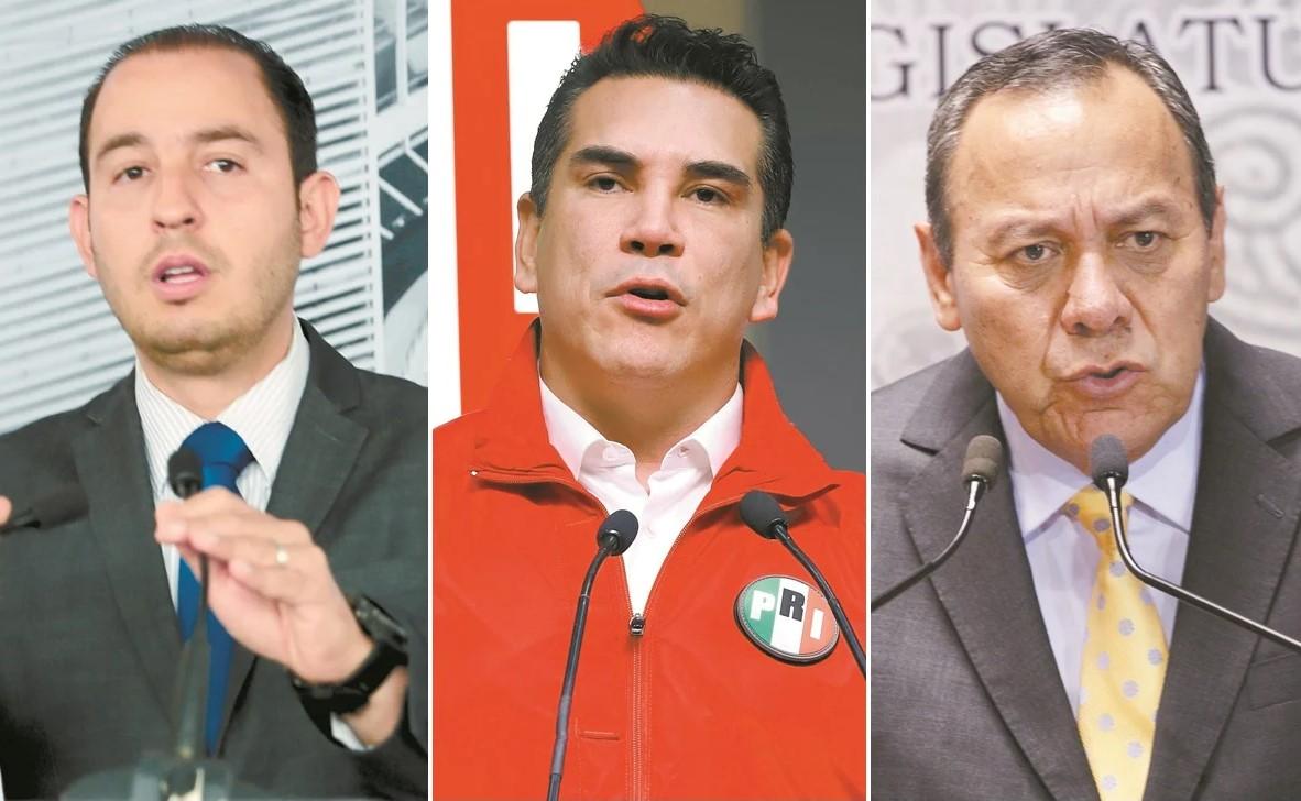 Tambalea alianza 'Va por México'; PAN y PRD en desacuerdo con PRI por no rechazar la Reforma Eléctrica de AMLO