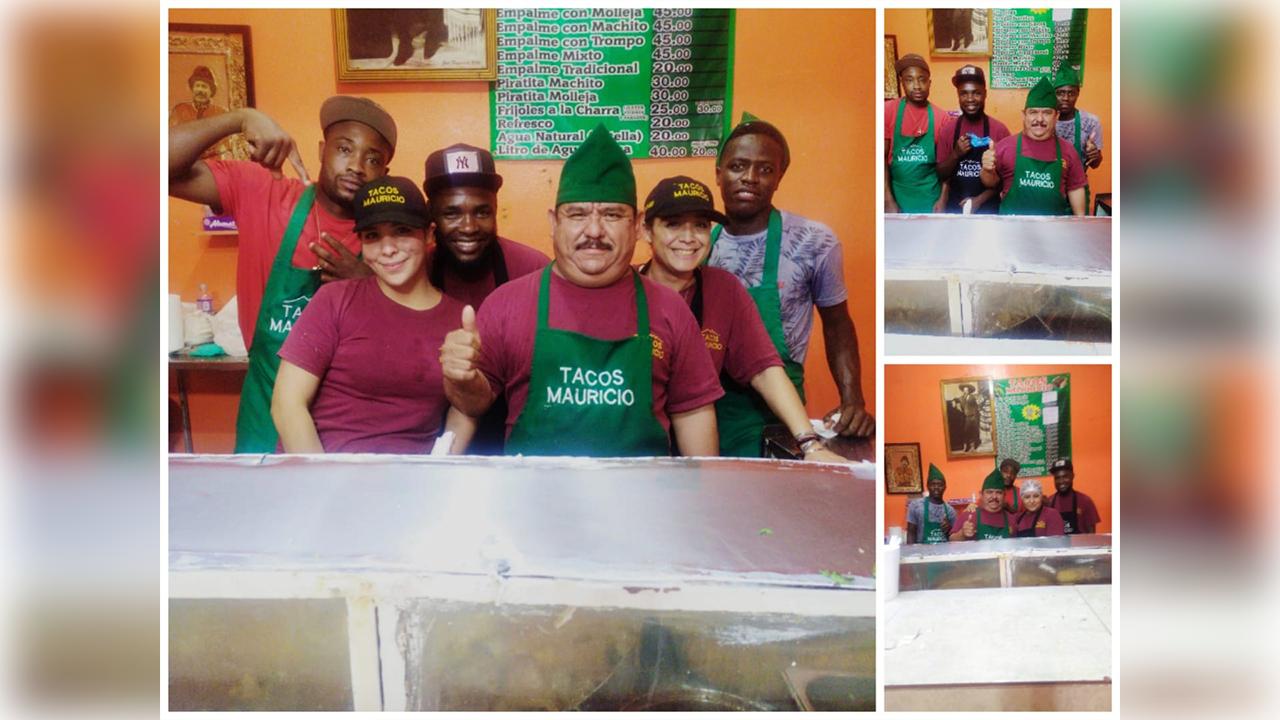 Taquería se vuelve viral tras contratar migrantes haitianos: 'Bienvenidos hermanos'