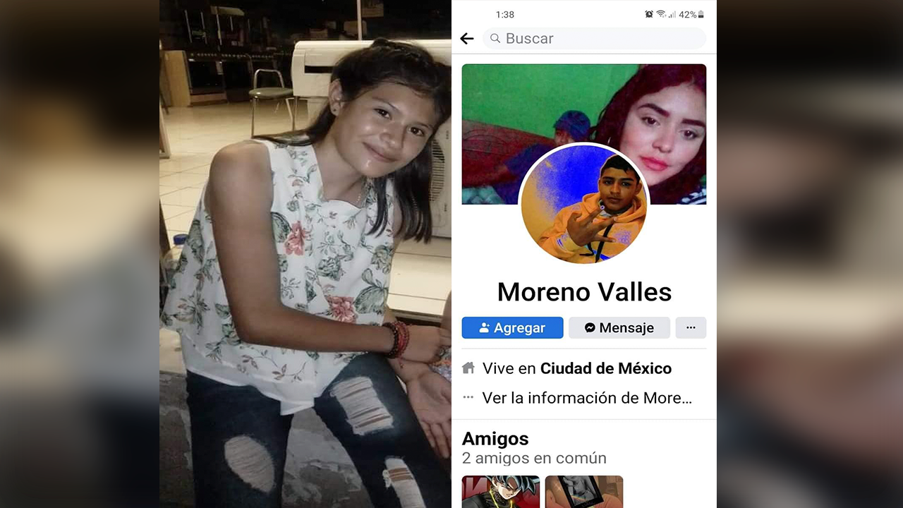 Violeta, de 13 años, se escapó con su novio en Coahuila: Sus padres están desesperados