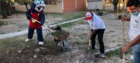CROC embellece a la escuela Sor Juana Inés de la Cruz en Frontera