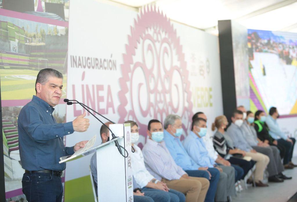 Invierten estado y municipio 75 MDP en la 'Línea Verde' de Saltillo