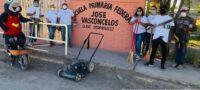 Realiza CROC labores de limpieza en escuela José Vasconcelos de Frontera