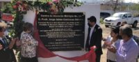Rinden homenaje póstumo al Prof. Jorge Jaime Contreras Méndez Fundador del CAM 13 en Monclova