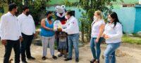 La CROC sigue apoyando en Frontera: Entregó despensas a familias vulnerables
