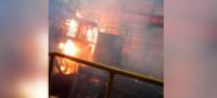 Daños son menores: AHMSA reporta 7 empleados lesionados tras incendio en Siderúrgica 1