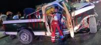 Tras lenta agonía muere conductor que chocó contra luminaria en bulevar Pape de Monclova