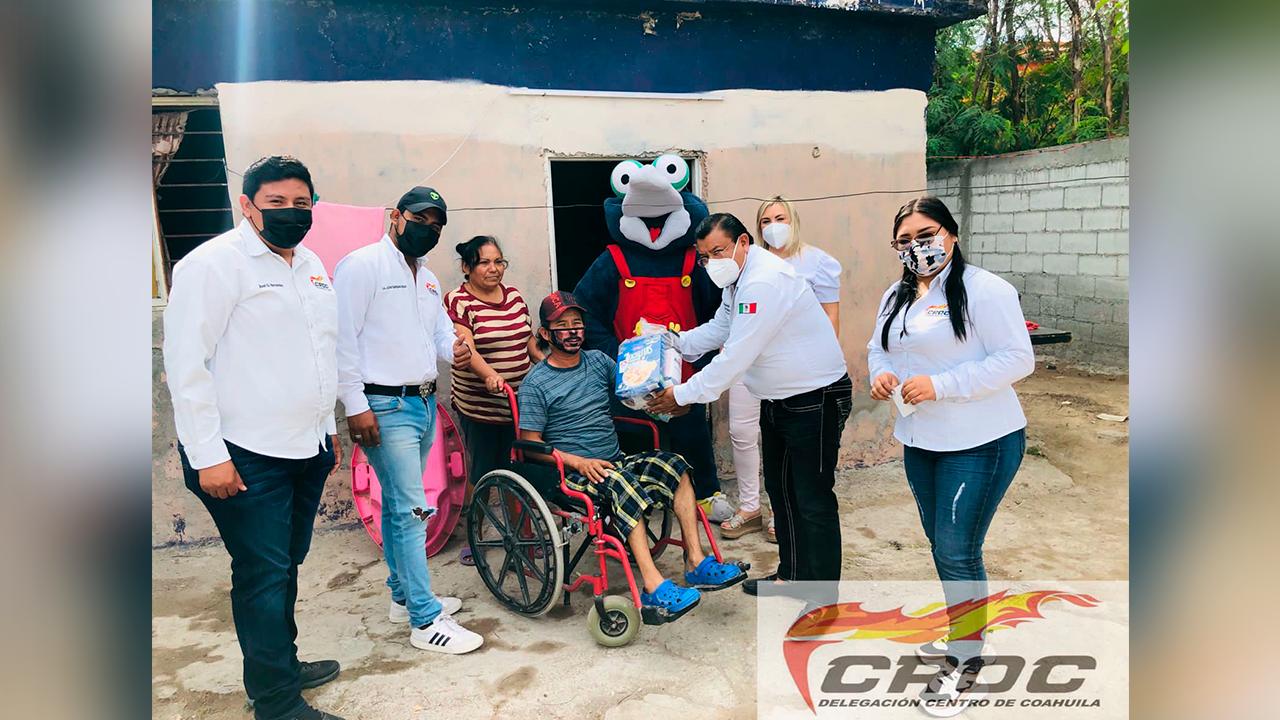 Continúan los programas de la CROC beneficiando a la ciudadanía
