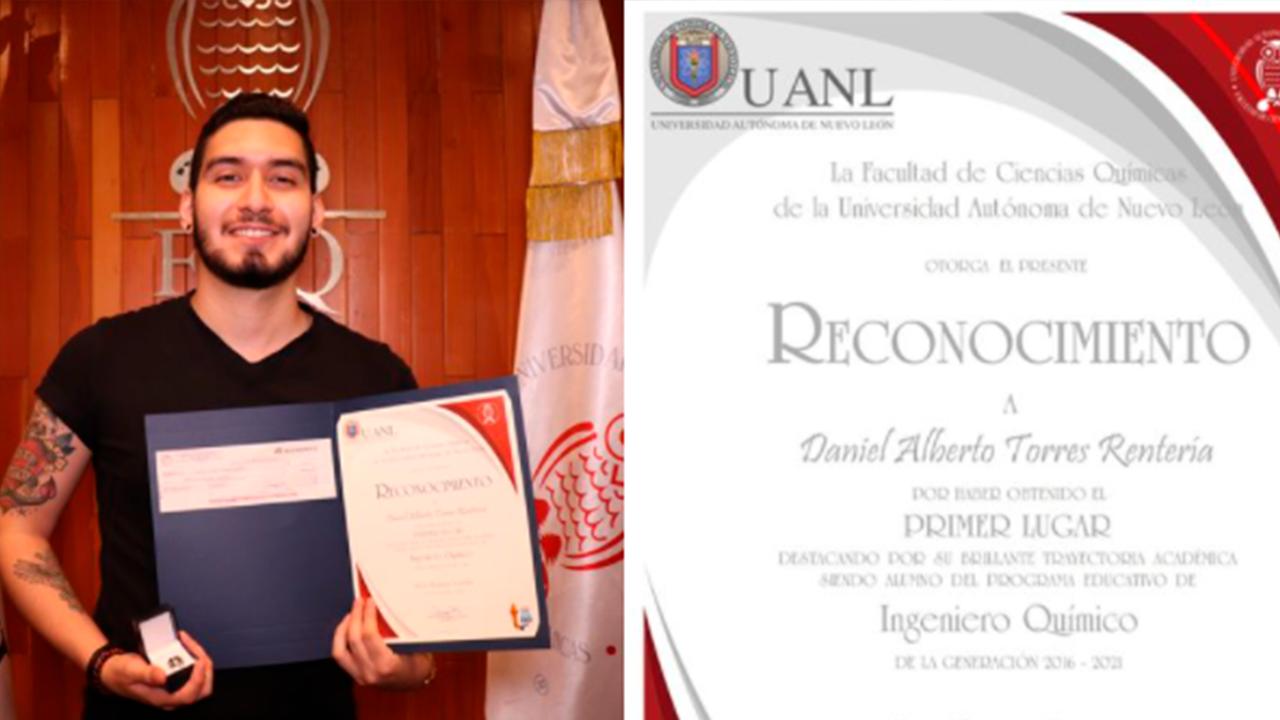 Soy Ingeniero Químico y estoy tatuado: joven de la UANL lucha contra los prejuicios