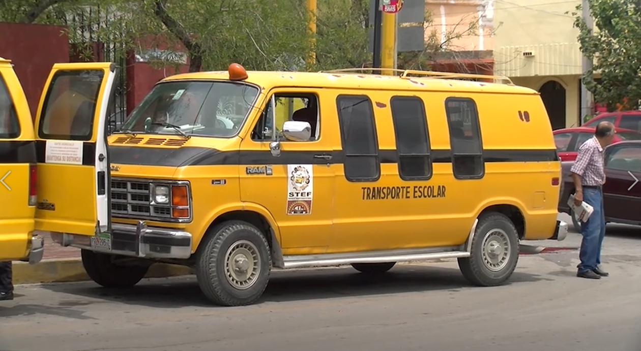 Solo el 20 por ciento de las 46 unidades de transporte escolar de Frontera se han podido reactivar
