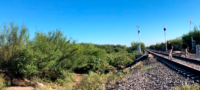 Se suicida hombre en las vías del tren de Frontera: voces lo obligaron a quitarse la vida