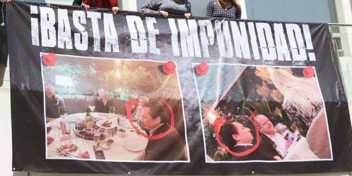 ¡Basta de impunidad!; Senadoras del PAN exigen se aprisione a Emilio Lozoya