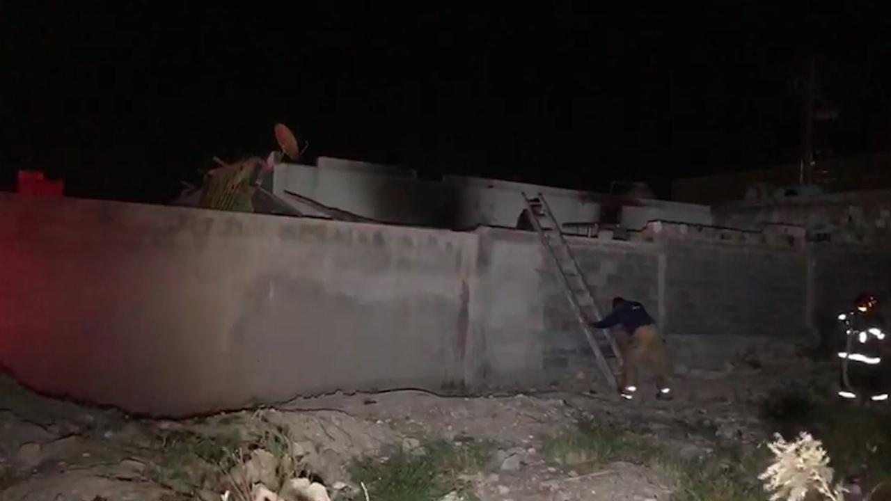 Moviliza incendio en vivienda en colonia Cañada Sur de Monclova