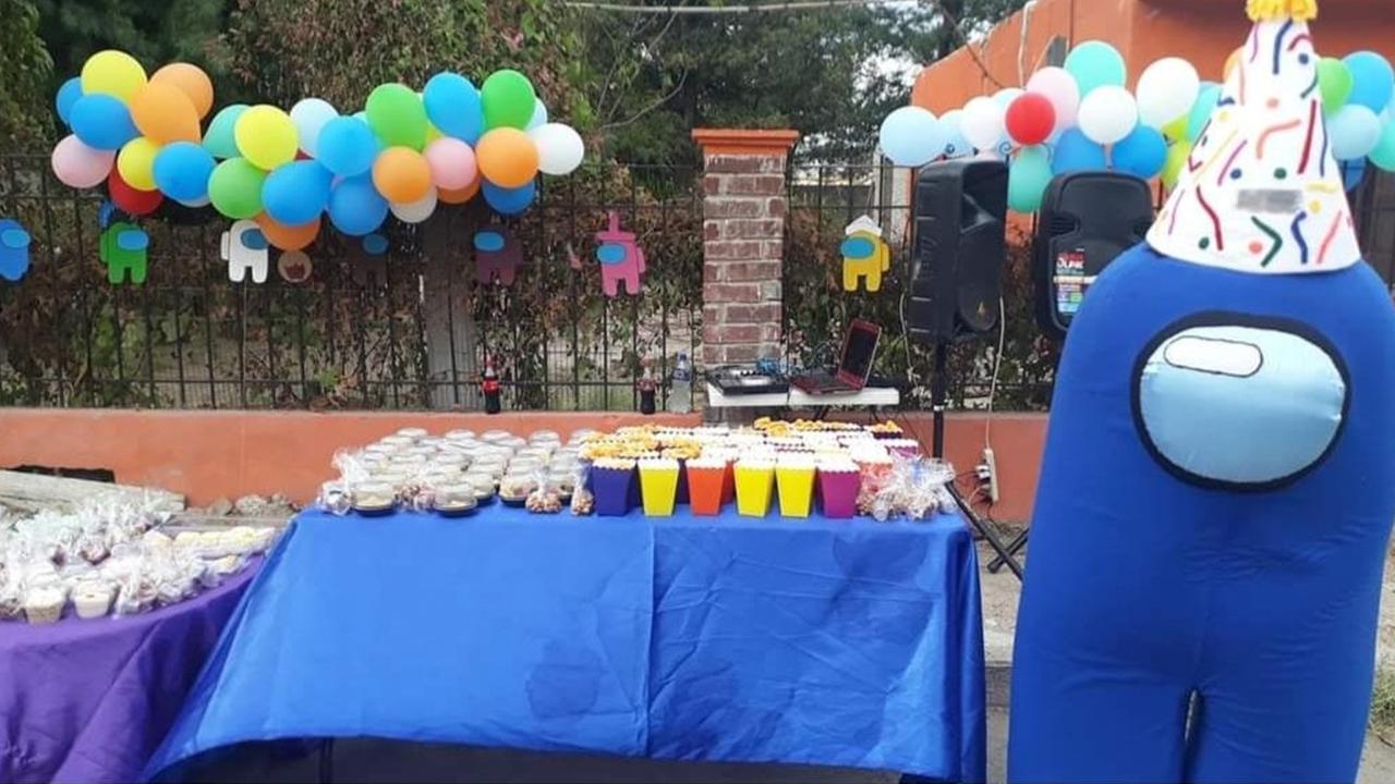 Nadie vino a su caravana: Abandonan a Kimy en su cumpleaños en Piedras Negras