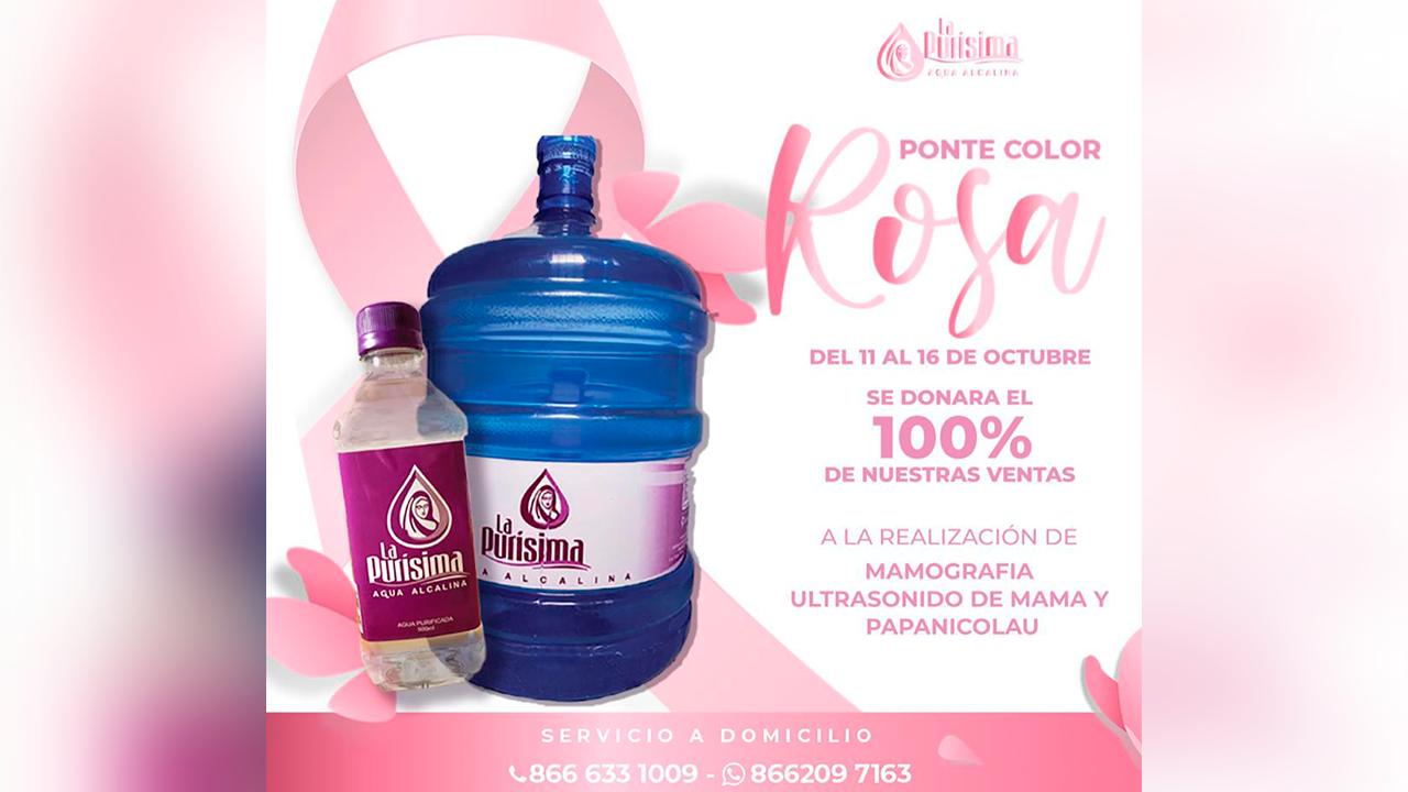 ¡Ponte color rosa!: La Purísima apoyará a mujeres con cáncer de mama en Monclova
