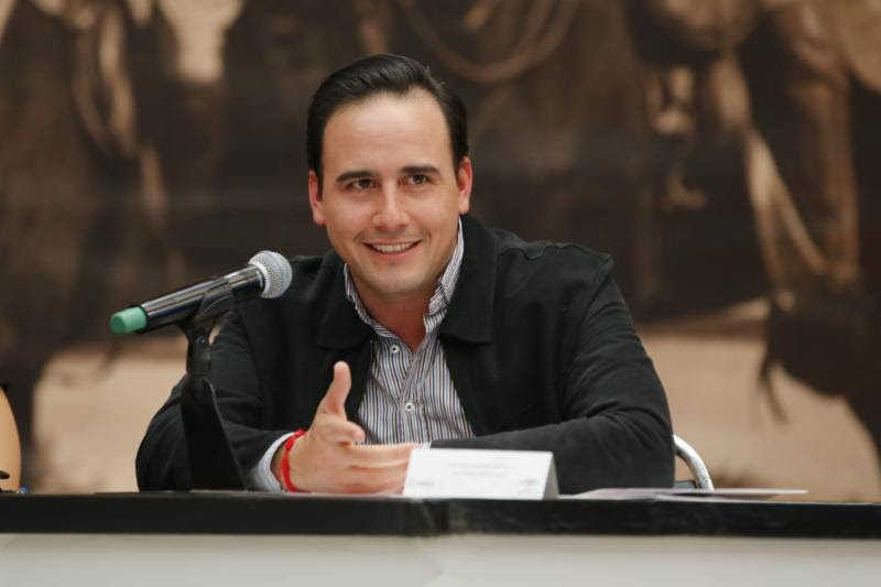 Manolo Jiménez, alcalde de Saltillo.