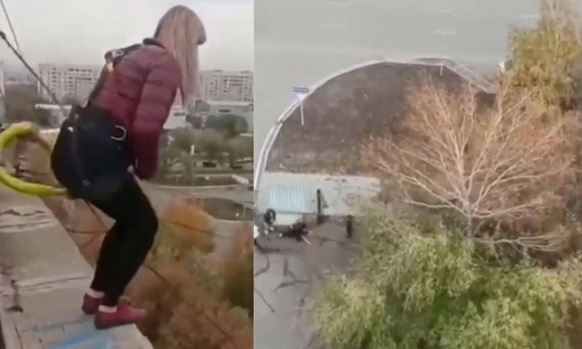 Madre de tres niños muere al saltar de un bungee