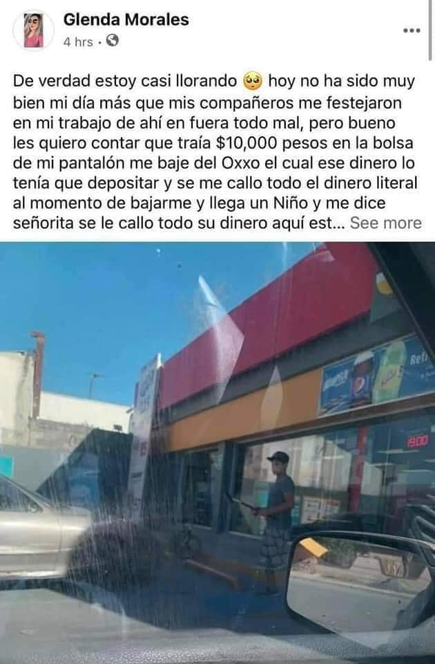Niño regresó 10 mil pesos y se volvió viral; es limpiavidrios en Coahuila