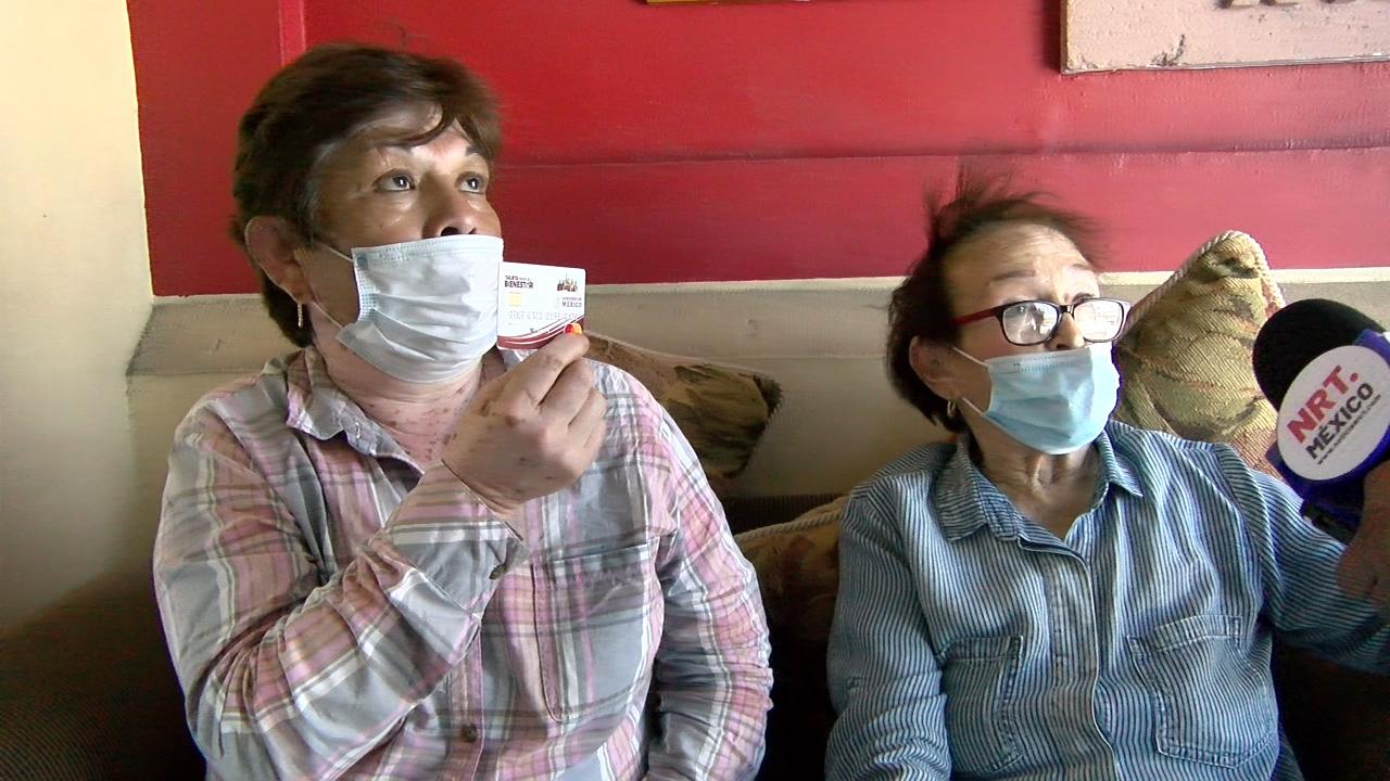 Abuelos desesperados porque está cerrada oficina del Bienestar y no les llega su pensión