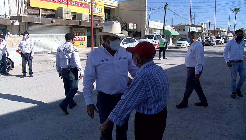 Alcalde aseguró sentirse complacido con la reacción de los ciudadanos por obras