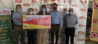 Recibe Cáritas Región Siderúrgica 267 mil 768 pesos del redondeo OXXO