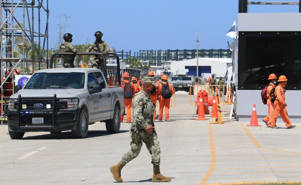 Sindicatos se están peleando por contratos; Presidencia explica represión en Dos Bocas