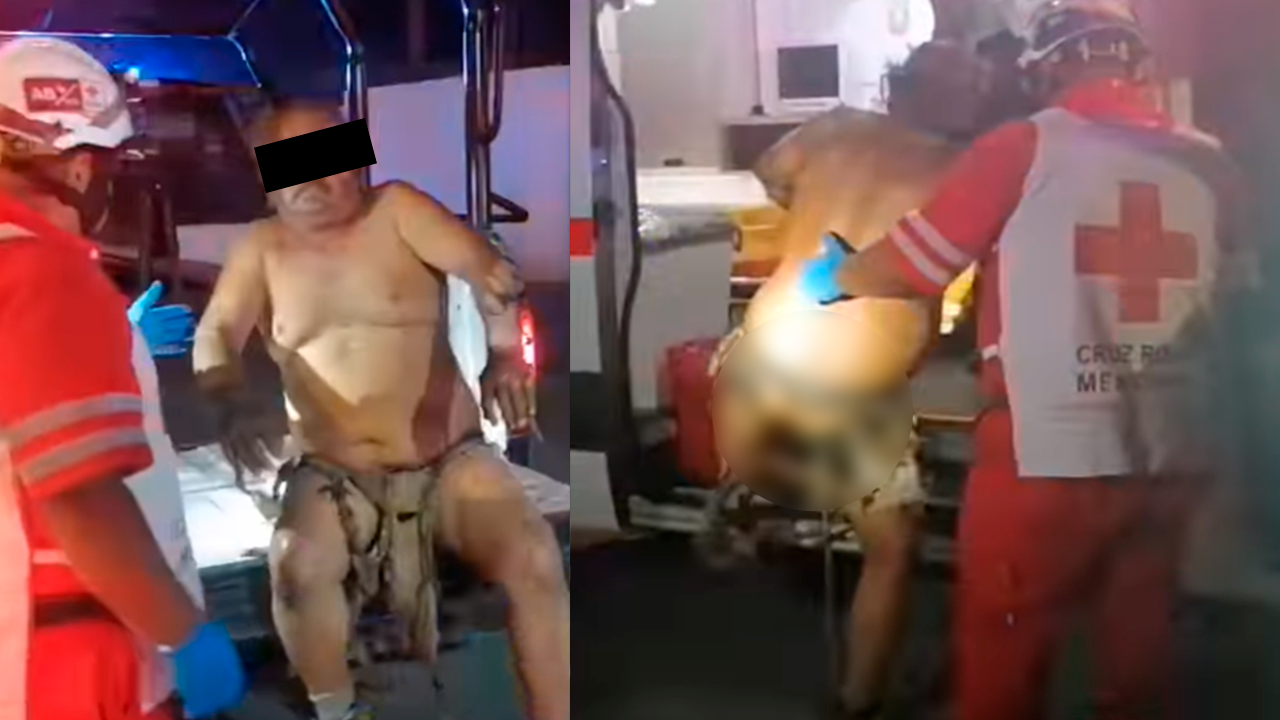 Hombre intentó suicidarse explotando el tanque de gas en Frontera: terminó semidesnudo